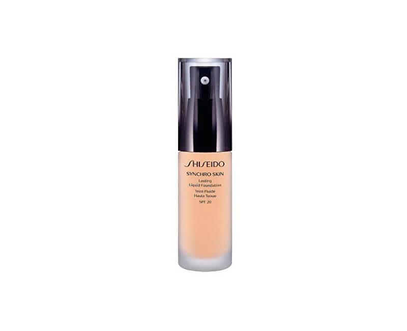Shiseido Rozjasňující liftingový make-up Synchro Skin SPF 20 (Lasting Liquid Foundation) 30 ml