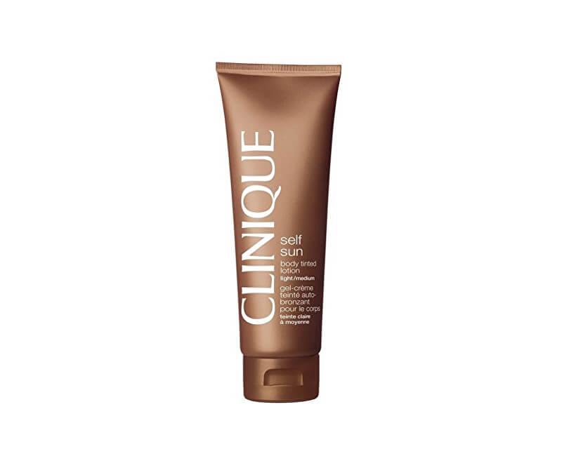 Clinique Samoopalovací tělové mléko Self Sun (Body Tinted Lotion) 125 ml
