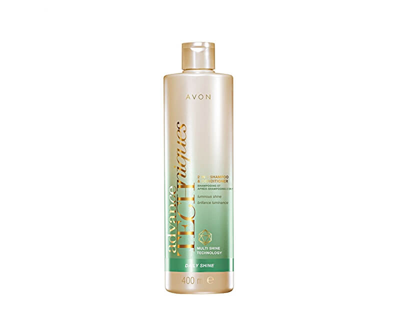 Avon Šampon a kondicionér 2 v 1 pro všechny typy vlasů Advance Techniques Daily Shine (2-in-1 Shampoo & Conditioner)
