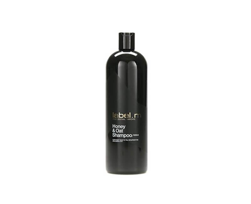 label.m Honey & Oat (Shampoo) sampon regenerant cu miere și ovăz pentru păr uscat și deshidratat