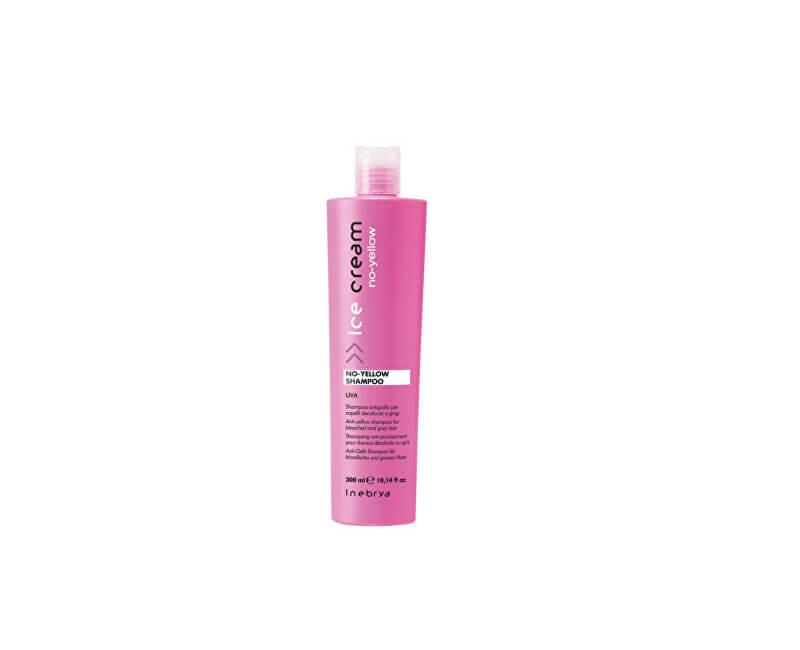 Inebrya Šampon pro melírované a šedivé vlasy Ice Cream (No Yellow Shampoo)