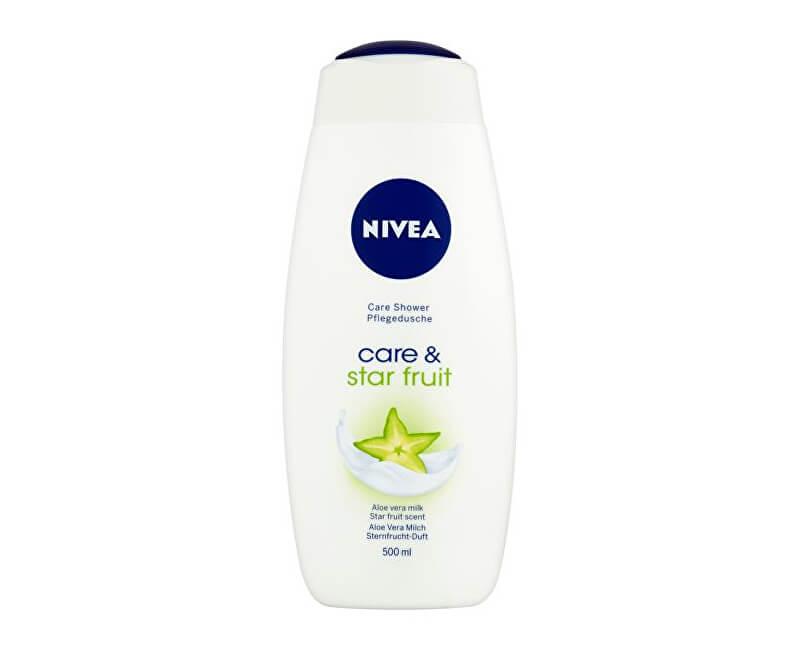 Nivea Sprchový gel Care & Starfruit