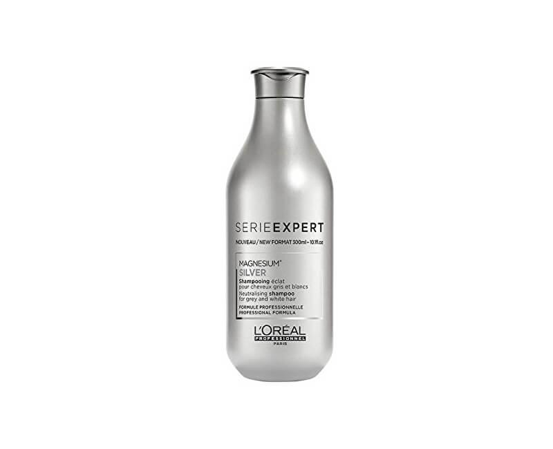 Loreal Professionnel Stříbrný šampon pro šedé a bílé vlasy Magnesium Silver (Neutralising Shampoo For Grey And White Hair)
