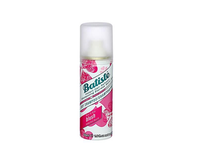 Batiste Suchý šampon na vlasy s květinovou vůní (Dry Shampoo Blush With A Floral & Flirty Fragrance)