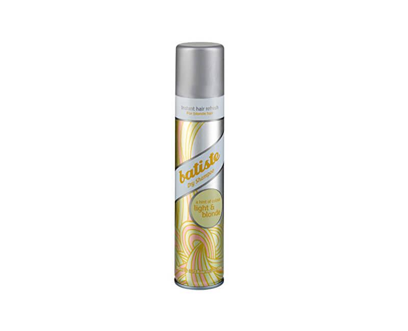 Batiste Suchý šampon pro blond vlasy (Dry Shampoo Plus Brilliant Blonde)