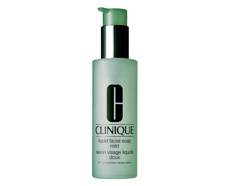 Clinique Tekuté čisticí mýdlo na obličej pro suchou až smíšenou pleť (Liquid Facial Soap Mild)
