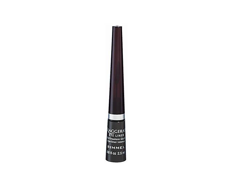 Rimmel Tekuté oční linky (Exaggerate Eye Liner) 2,5 ml