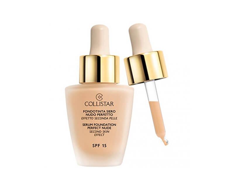 Collistar Tekutý make-up so sérom pre vzhľad nahé pleti (Serum Foundation  Perfect Nude 164dd8e3a1a
