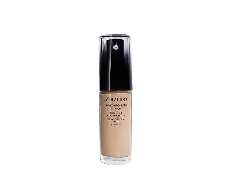 Shiseido Tekutý rozjasňujúci make-up Synchro Skin Glow SPF 20 (Luminizing Fluid Foundation) 30 ml