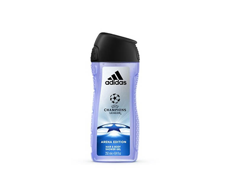 Adidas Sprchový gel pro muže UEFA (Champions League Arena Edition Hair & Body Shower Gel)