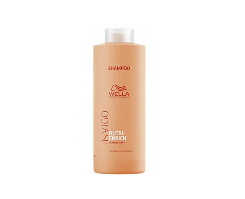 Wella Professionals Vyživující šampon pro suché a poškozené vlasy Invigo Nutri-Enrich (Deep Nourishing Shampoo)