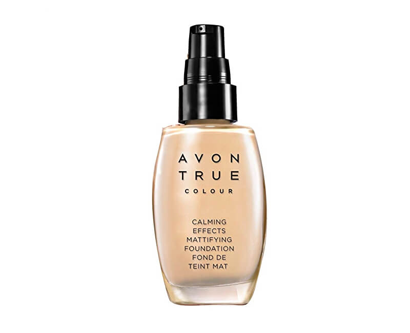 Avon Zklidňující make-up s matující složkou True Colour (Calming Effects Mattifying Foundation) 30 ml