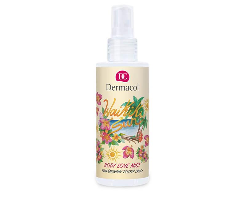 Dermacol Parfémovaný tělový sprej Waikiki Sun (Body Love Mist) 150 ml