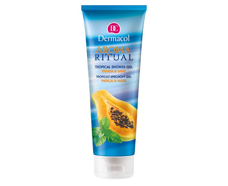 Dermacol Sprchový gel Papája a máta Aroma Ritual (Tropical Shower Gel) 250 ml
