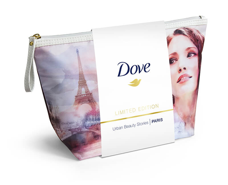 Dove Dárková kosmetická sada pro ženy v taštičce Paris