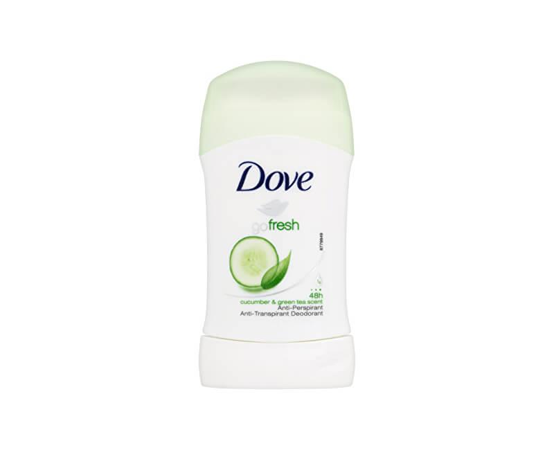 Dove Tuhý deodorant Go Fresh s vůní okurky a zeleného čaje 40 ml