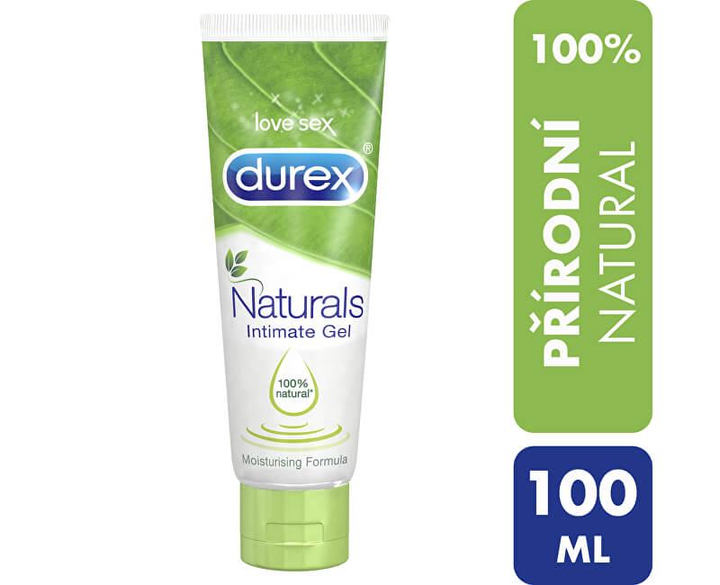 Durex Lubrikační gel Naturals (Intim Gel) 100 ml