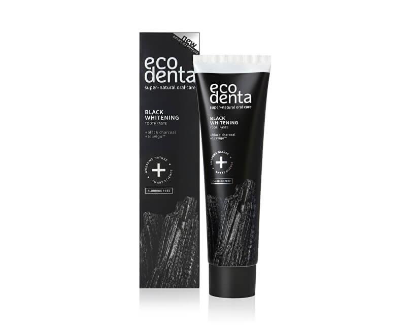 Ecodenta Černá bělicí zubní pasta s uhlím a extraktem Teavigo (Black Whitening Toothpaste) 100 ml<br /><strong>Nové balení.</strong>
