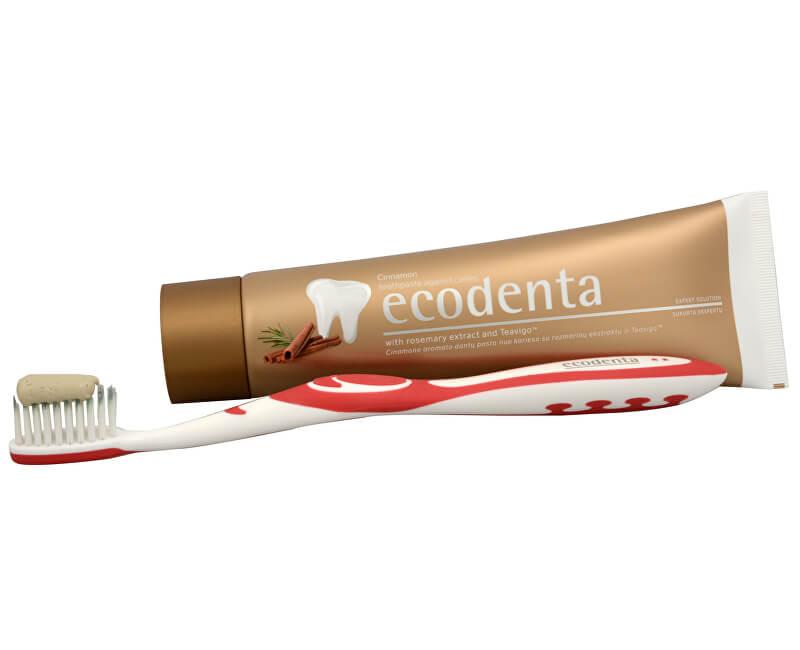 Ecodenta Skořicová zubní pasta proti vzniku zubního kazu s extraktem Teavigo (Cinnamon Toothpaste) 100 ml