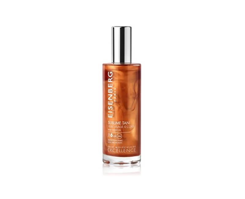 Eisenberg Pleťový a tělový olej SPF 6 (Sublime Tan Face & Body Oil) 100 ml