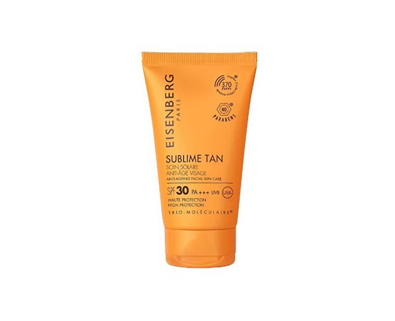 Eisenberg Pleťový opalovací krém proti vráskám SPF 30 (Anti-Ageing Facial Sun Care) 50 ml