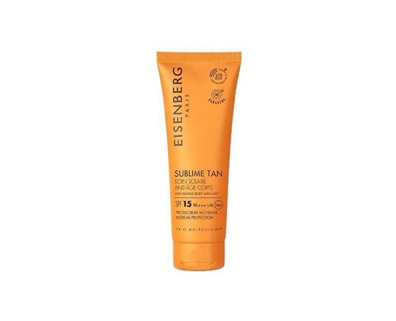 Eisenberg Tělový opalovací krém proti stárnutí pokožky SPF 15 (Anti-Ageing Body Sun Care) 100 ml