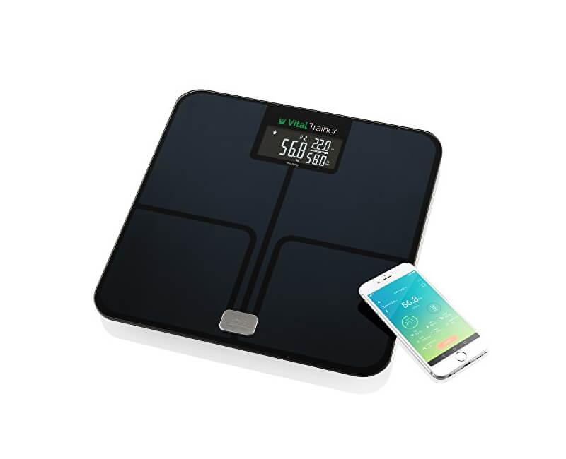 e75ad436a5 ETA Analytická osobná váha sa smart aplikácií Vital Trainer ...