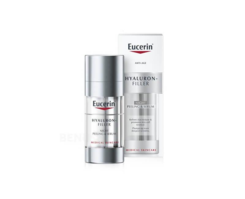 Eucerin Noční obnovující a vyplňující sérumHyaluron Filler (Night Peeling & Serum) 30 ml