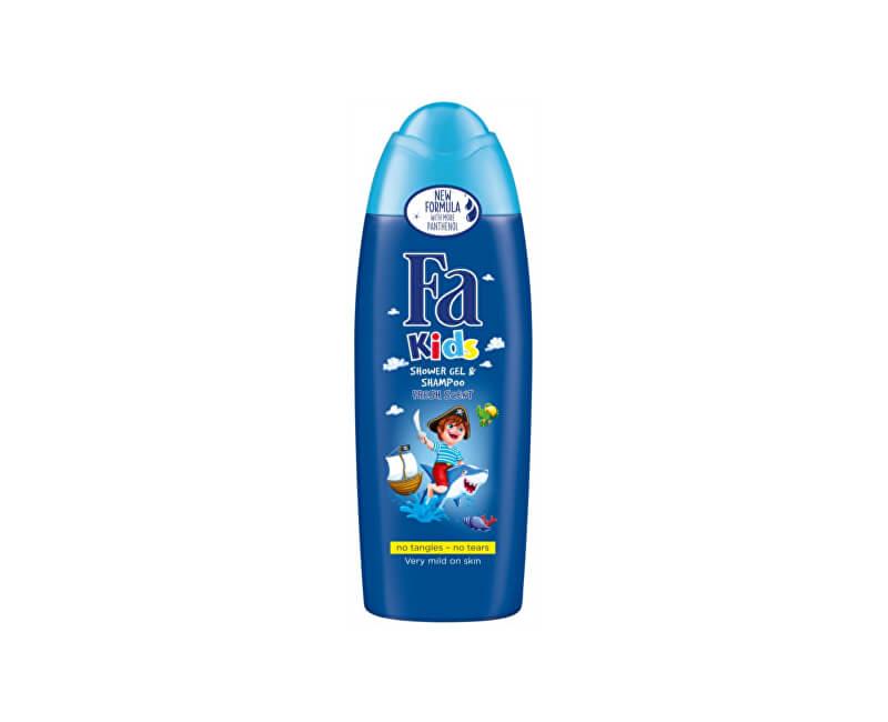Fa Sprchový gel a šampon se svěží vůní Kids (Shower Gel & Shampoo) 250 ml