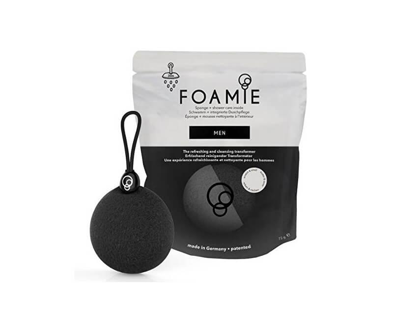 Foamie Jemná čisticí houba a mýdlo do sprchy pro muže Men
