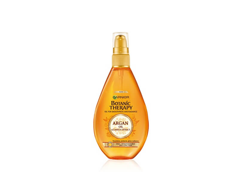 Garnier Vyživující olej s arganovým olejem a kamélií pro normální až suché vlasy Botanic Therapy (Oil For Smoothness And Radiance) 150 ml