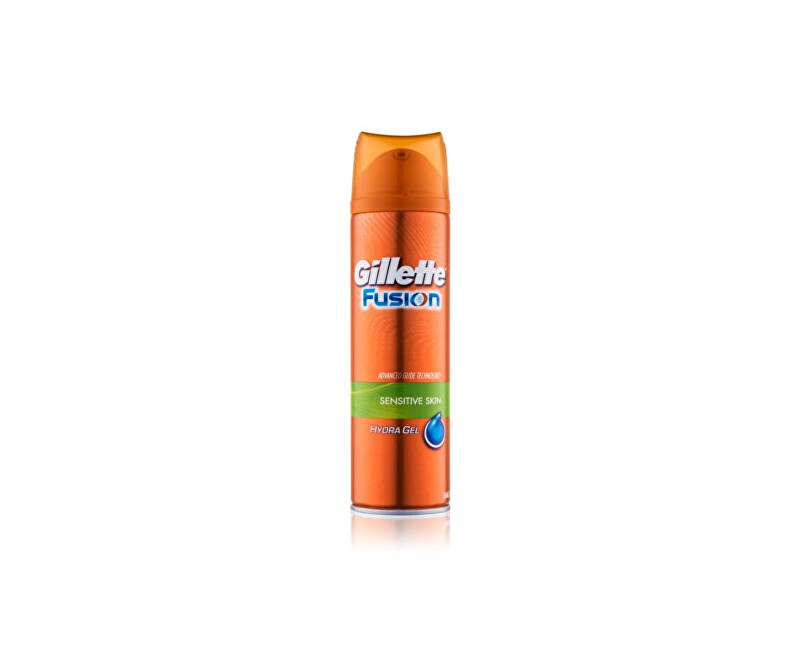 Gillette Gel na holení Gillette Fusion Hydra Gel (Sensitive Skin) 200 ml