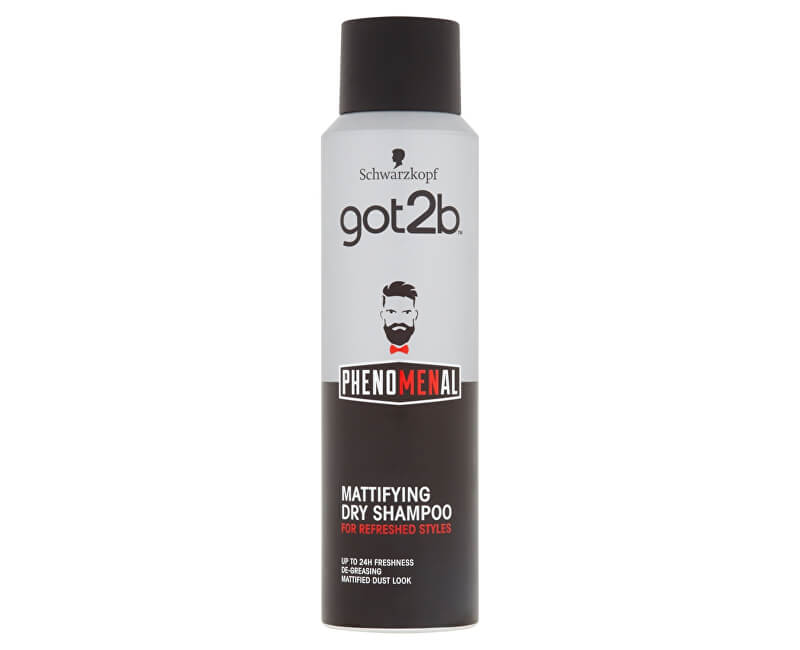 got2b Zmatňující suchý šampon pro muže PhenoMENal (Matifying Dry Shampoo) 150 ml