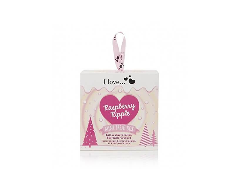 I Love Dárková sada s vůní malin Mini Treat Box Raspberry Ripple