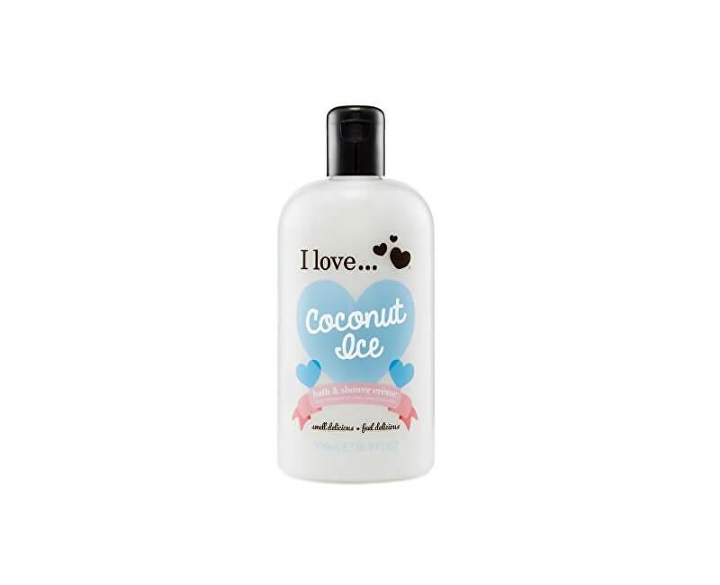 I Love Koupelový a sprchový krém s vůní kokosu (Coconut Ice Bath & Shower Creme) 500 ml