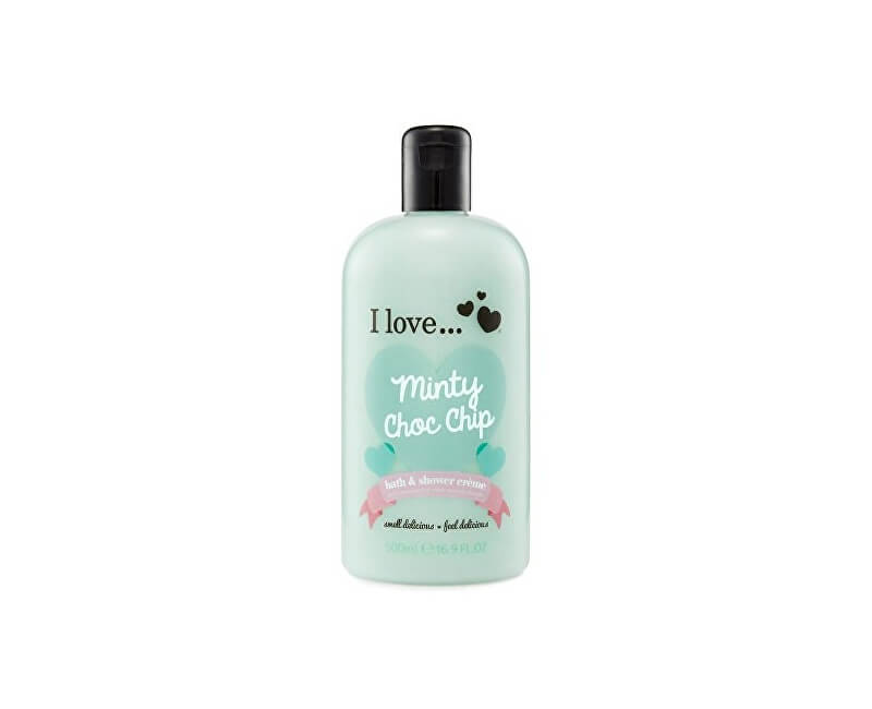 I Love Koupelový a sprchový krém s vůní máty (Minty Choc Chip Bath & Shower Cream) 500 ml