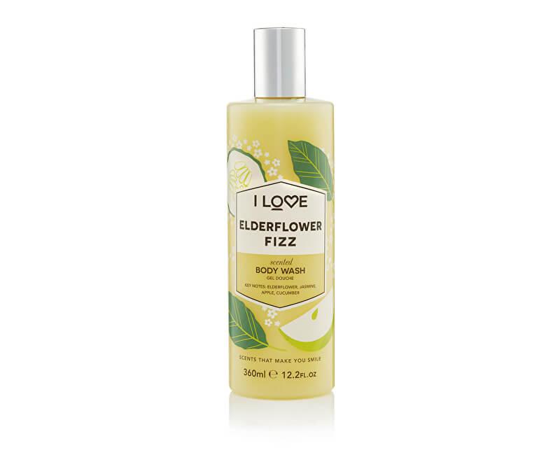 I Love Sprchový gel Elderflower Fizz (Body Wash) 360 ml