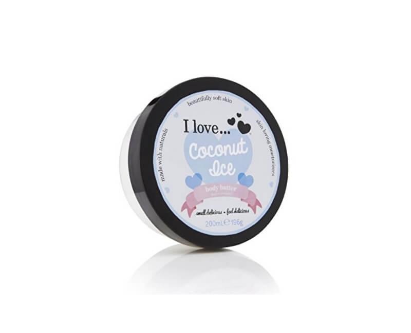 I Love Vyživující tělové máslo s vůní kokosu (Coconut Ice Body Butter) 200 ml