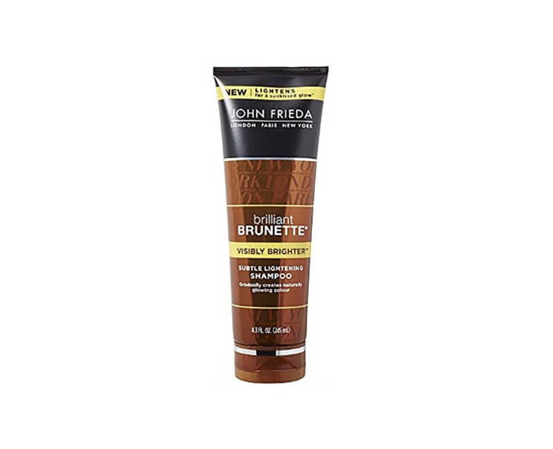 John Frieda Šampon pro lesk hnědých vlasů Brilliant Brunette Visibly Brighter (Subtle Lightening Shampoo) 250 ml