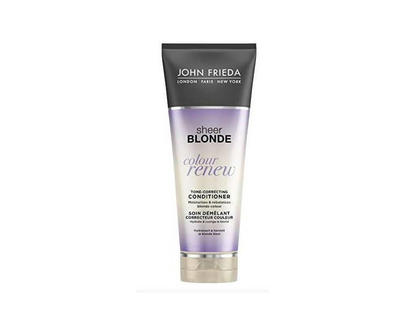 John Frieda Tónovací kondicionér pro blond vlasy Sheer Blonde Colour Renew (Tone-Correcting Conditioner) 250 ml