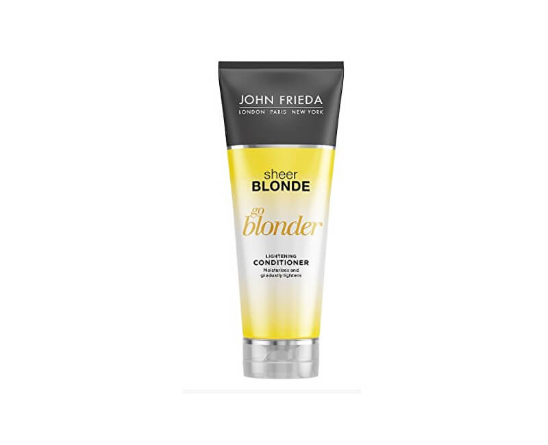 John Frieda Zesvětlující kondicionér pro blond vlasy Sheer Blonde Go Blonder (Lightening Conditioner) 250 ml