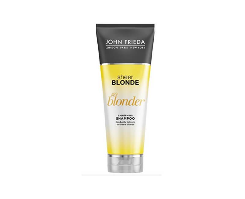 John Frieda Zesvětlujicí šampon pro blond vlasy Sheer Blonde Go Blonder (Lightening Shampoo) 250 ml