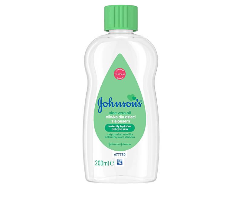 JOHNSON`S Baby Olej s aloe vera Baby 200 ml