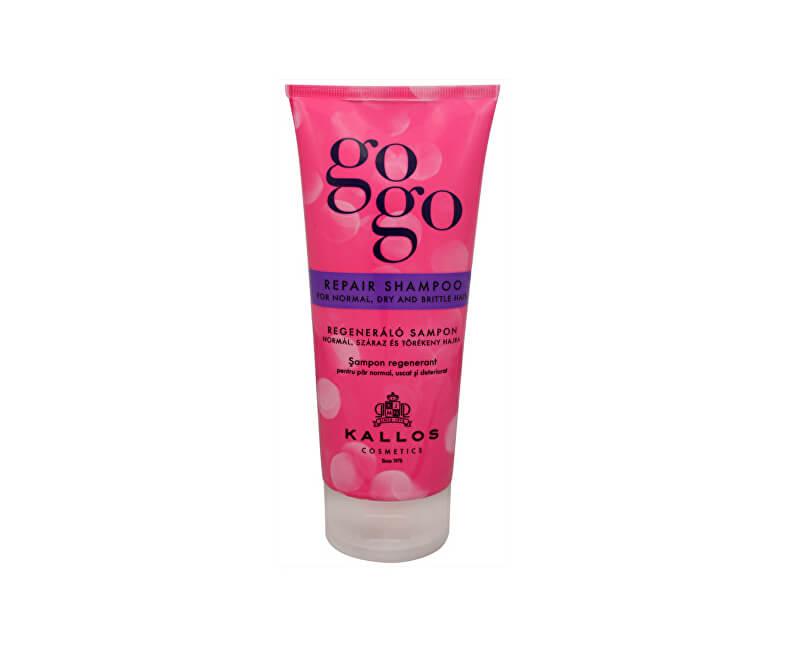 Kallos Obnovující šampon pro suché vlasy GoGo (Repair Shampoo) 200 ml
