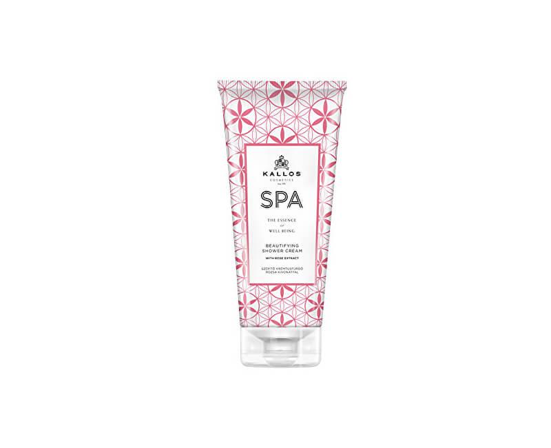 Kallos Krémový sprchový gel s extraktem z růže z Damašku (SPA Beutifulying Shower Cream Gel With Rose Extract) 200 ml