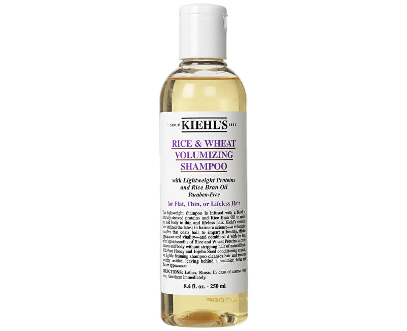 Kiehl´s Šampon pro oživení vlasů a objem (Rice & Wheat Volumizing Shampoo) 250 ml