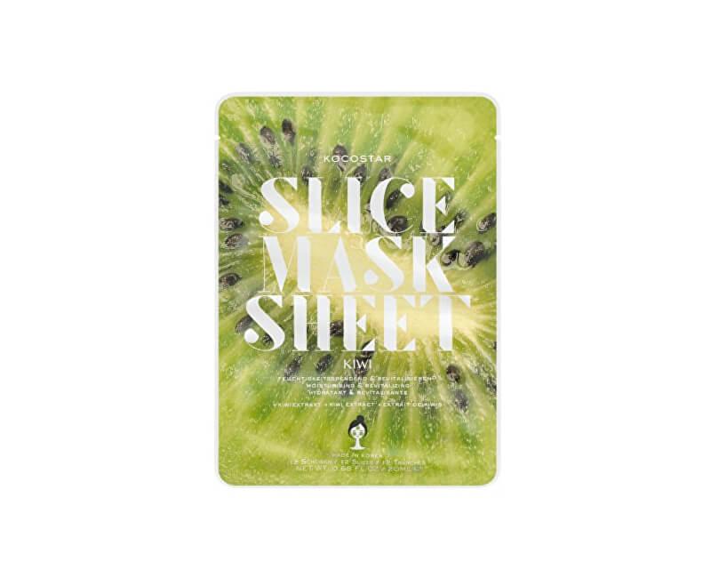 Kocostar Hydratační a revitalizační plátková maska Kiwi (Slice Sheet Mask) 20 ml