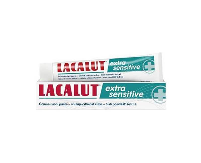 Lacalut Zubní pasta Lacalut Extra Sensitive 75 ml