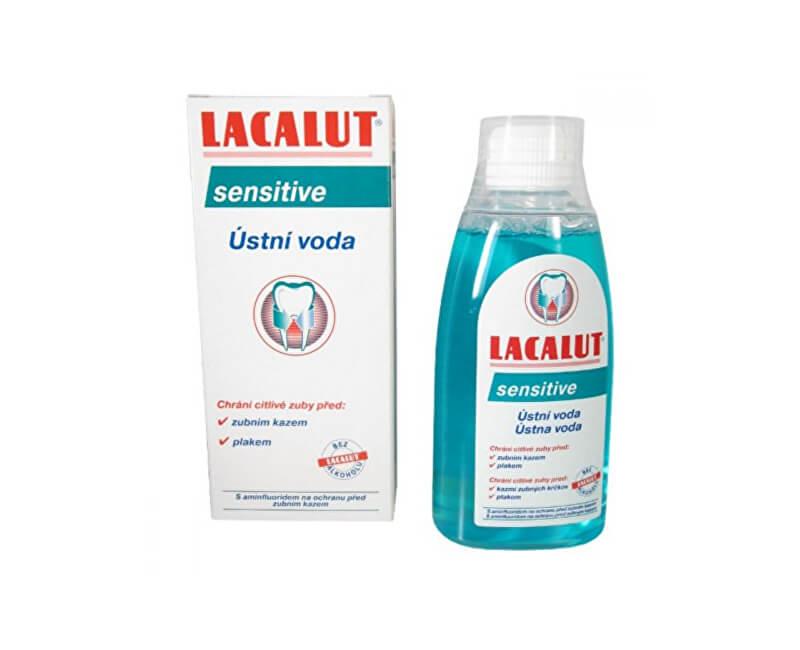 Lacalut Ústní voda na citlivé zuby a obnažené krčky Sensitive 300 ml