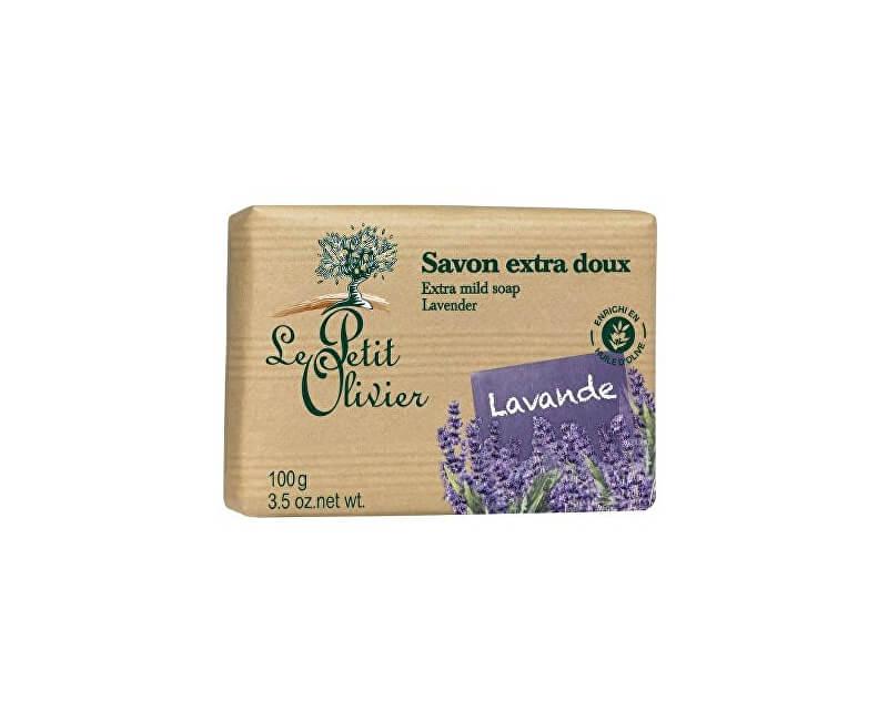 Le Petit Olivier Extra jemné přírodní mýdlo Levandule (Extra Mild Soap) 100 g